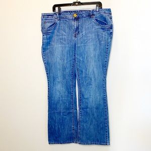 Mossimo Premium Denim Bootcut Jeans size 18
